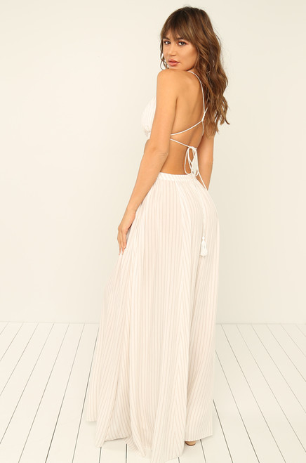 Truth or Bare Dress - White