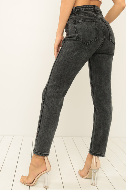 Star Gazed Jeans - Black Denim