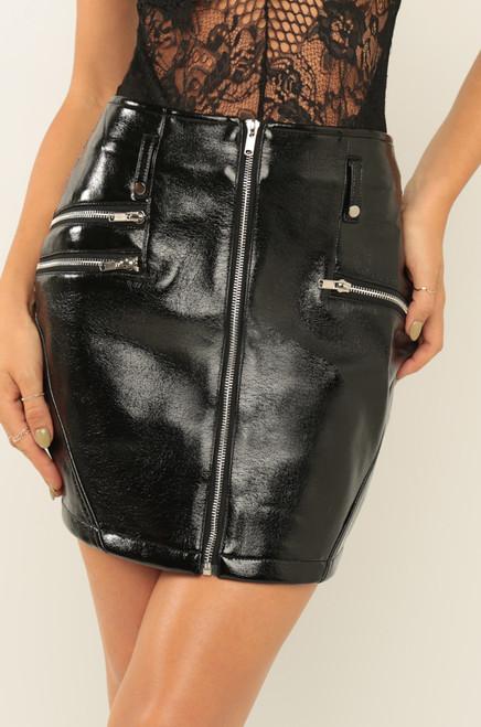 Too Too Hot Skirt - Black