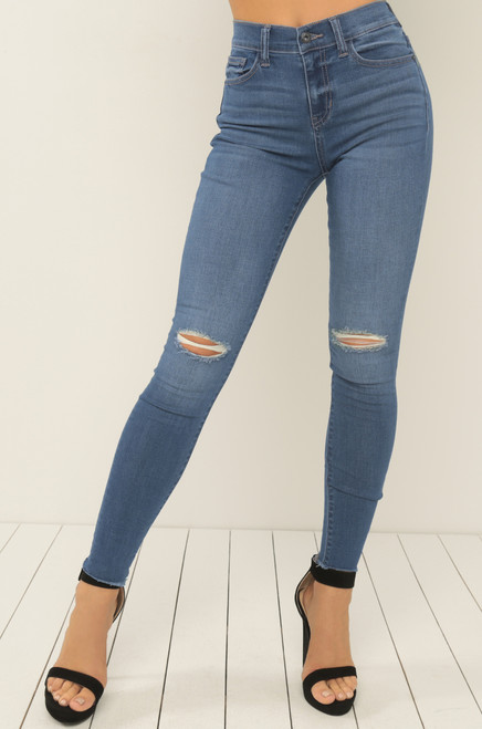 Jean You There Jeans - Medium Denim