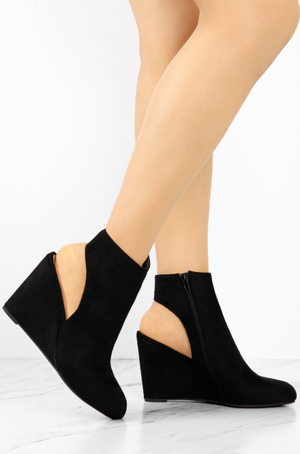 Wedged To Perfection - Black