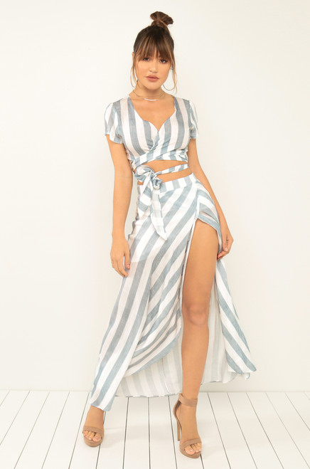 Perfect Together Co-Ord Set - Blue