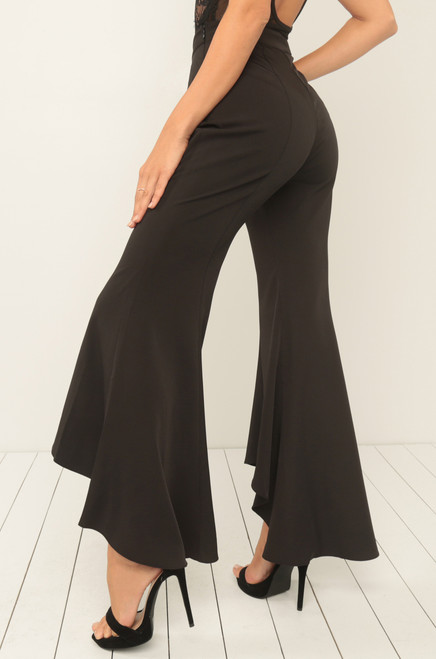 For The Flare Trousers – Black