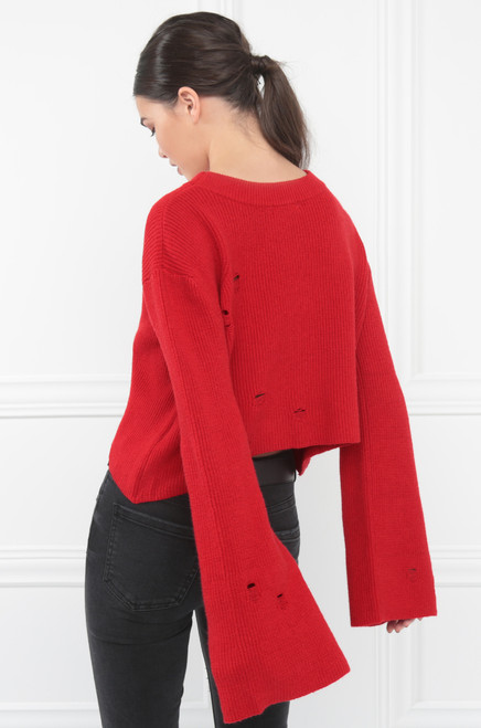 For The Chills Top - Red