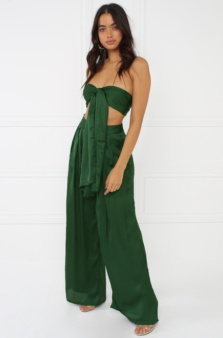 Taking Over Co-Ord Set - Green