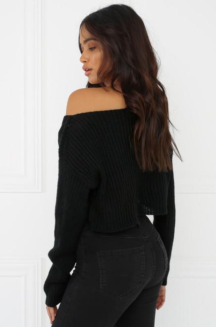 NSFW Sweater - Black
