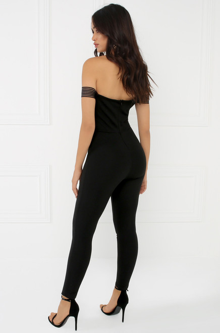Feeling You Jumpsuit - Black