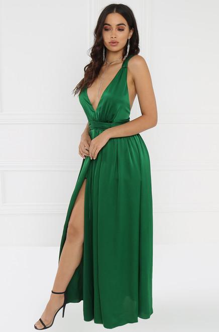Charisma Dress - Green
