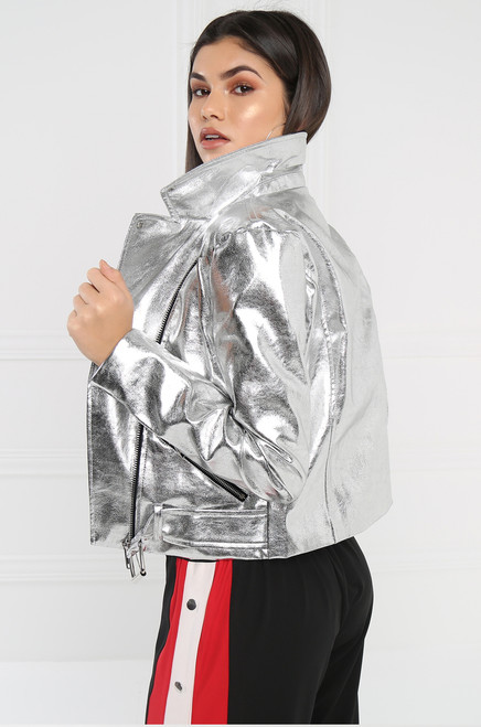 Sin City Jacket - Silver