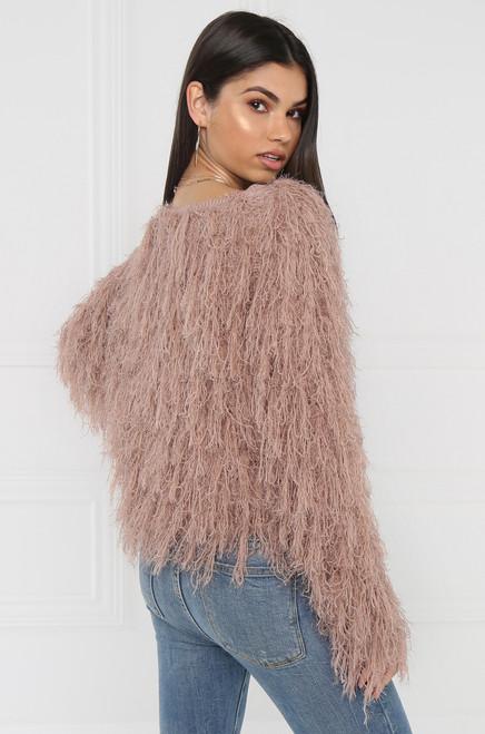 Real Love Sweater - Mauve