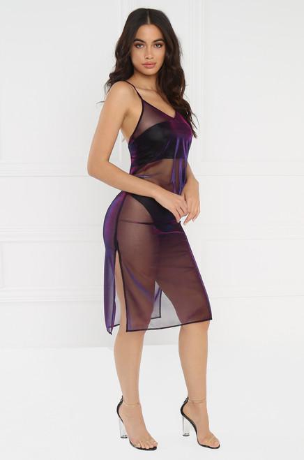 Eye Candy Dress - Purple