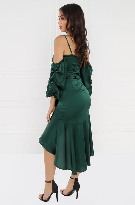 Speechless Dress - Emerald