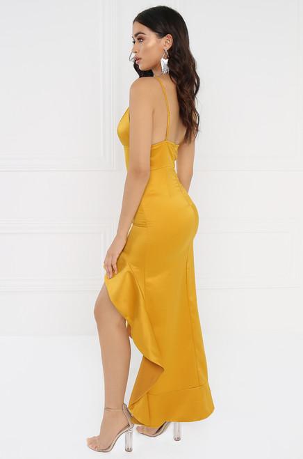 Attention Seeker Dress - Canary