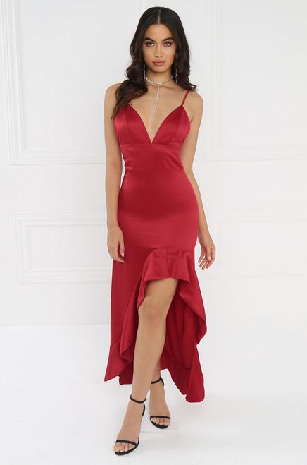 Attention Seeker Dress - Red