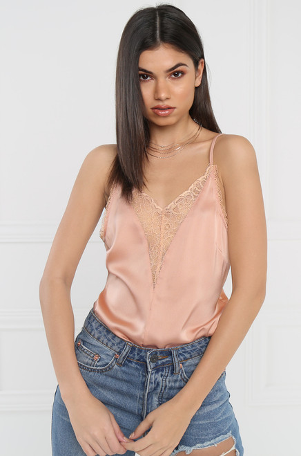 Lust for Lace Cami - Blush