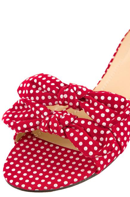 Hottie Dottie - Red Polka-Dot