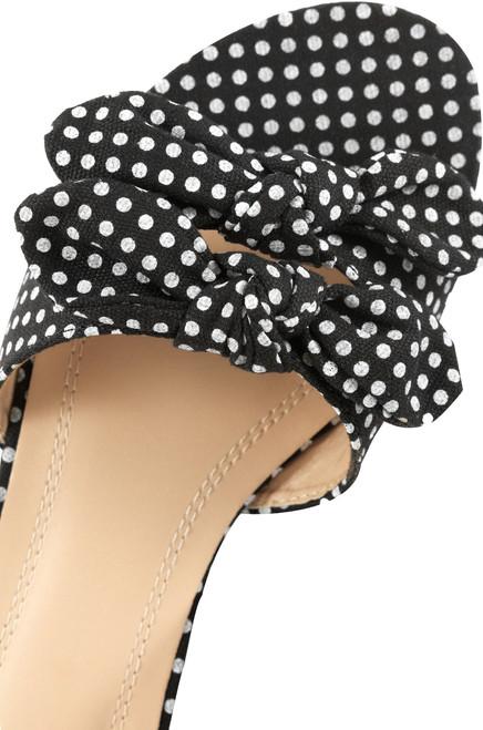 Hottie Dottie - Black Polka-Dot