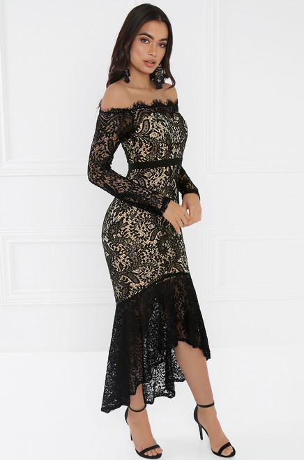 Chantilly Dress - Black