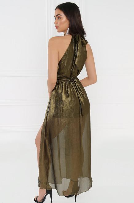 Haute & Unbothered Dress - Bronze