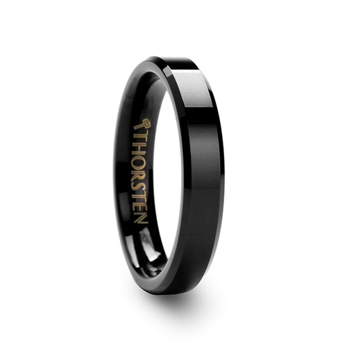 Arctium Black Tungsten Carbide Band at Rotunda Jewelers