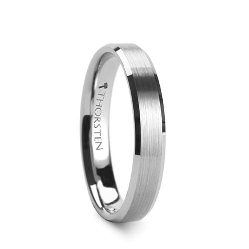 Daphne Bushed Tungsten Carbide Band at Rotunda Jewelers