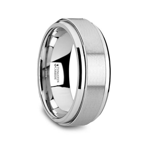 Harlequin Tungsten Carbide Spinner Band Spinning Wedding Band at Rotunda Jewelers