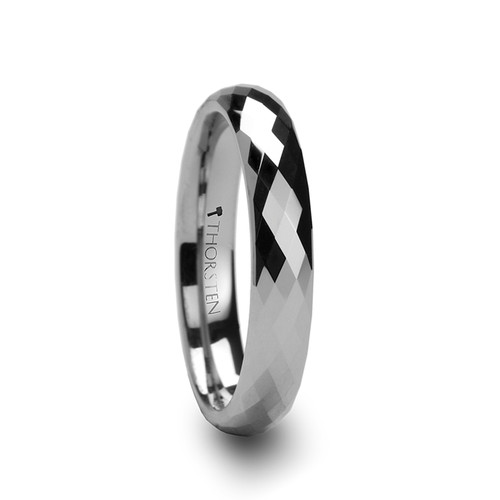 Carolina 288 Diamond Faceted Tungsten Carbide Ring at Rotunda Jewelers