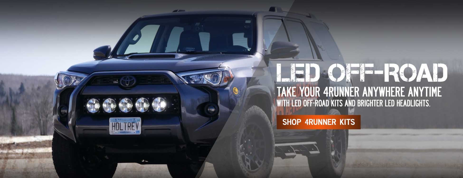 Off Road LED Kits for Toyota 4Runner