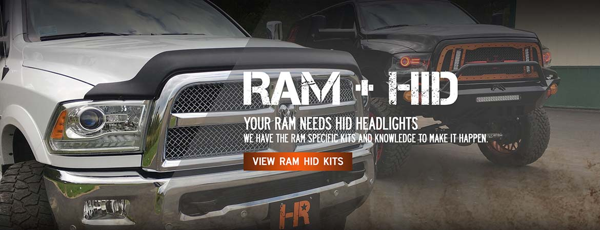 Better and Brighter RAM headlights