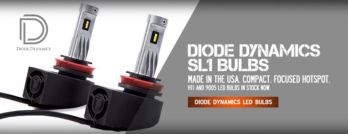 Diode Dynamics LED headlight bulbs at Headlight Revolution