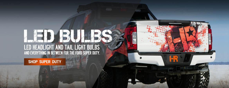 Super Duty LED Headlight Bulbs