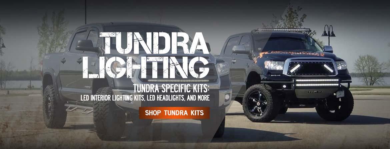Tundra LED and HID headlight kits