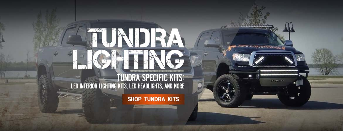 Tundra LED and HID headlight kits