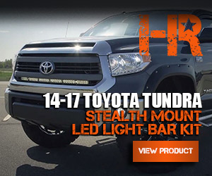 2014 2017 toyota tundra stealth mount led light bar behind oem hid headlight bulb replacements aloadofball Images
