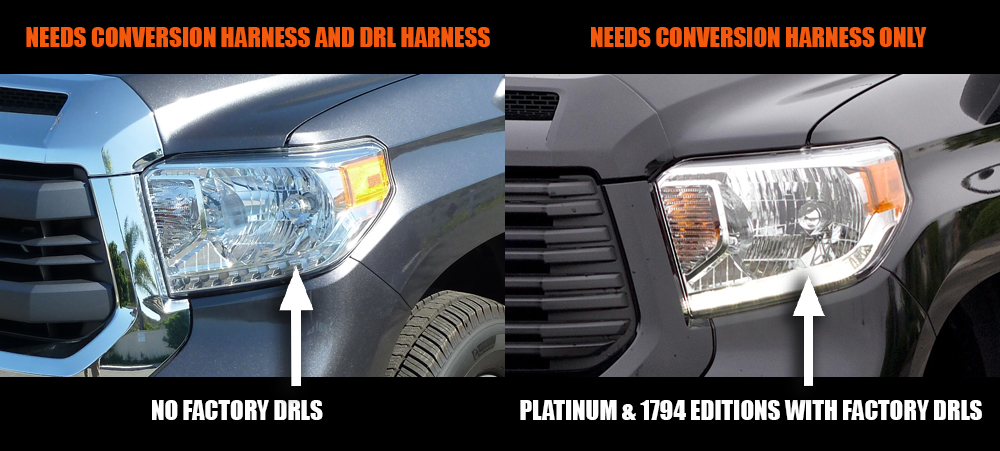 Tundra LED Headlights