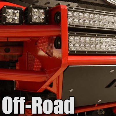 Off Road Lighting Mounts and Grilles