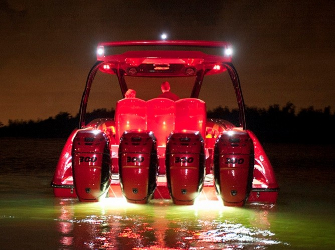 Boat Lighting & Boat and Marine LED Accent Lighting Flood Lighting Deck Lighting ...