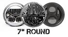7 Round Sealed Beam Headlight Options
