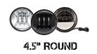 4.5 Sealed Beam Headlight Options