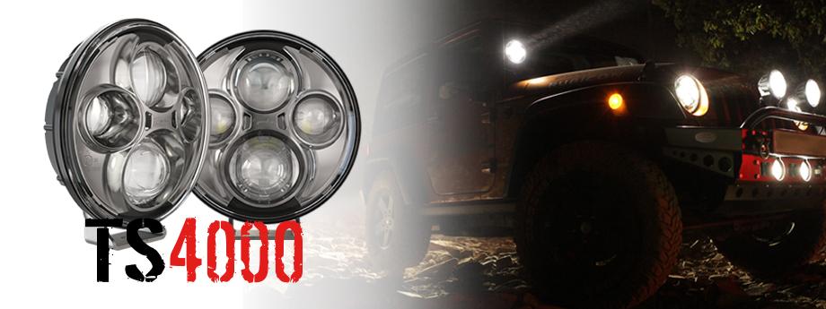 TS4000 Jeep Lights