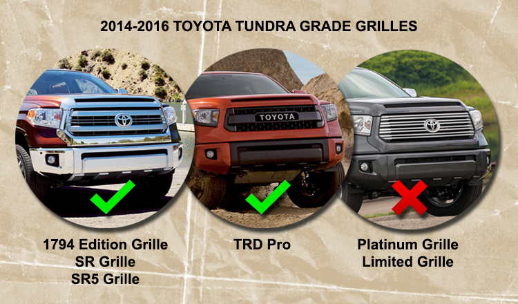 Tundra Grille Types