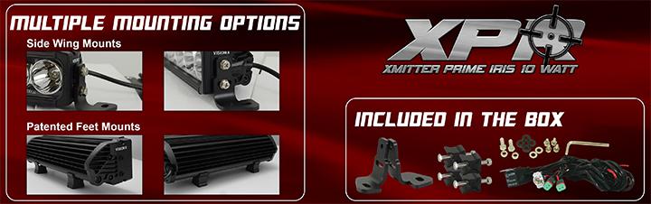 XPR XPI Vision X LED Light Bars