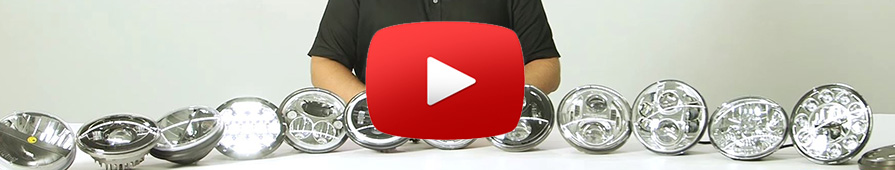 Headlight testing videos
