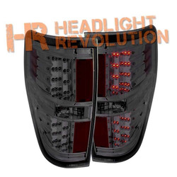Anzo Ford F-150 and Raptor LED Tail Lights - Smoke Lens