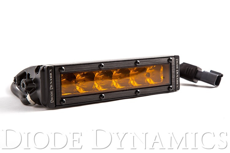 Diode dynamics ss6 stage series 6 light bar driving pattern amber diode dynamics aloadofball Choice Image
