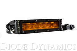 "Diode Dynamics SS6 Stage Series 6"" Light Bar Wide Pattern - Amber LED"