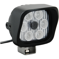 "Vision X VIDEO EXTREME LIGHT 4"" SQUARE 60 DEGREE OPTICS 72 DEGREE CAMERA ANGLE SHORT SHIELD"