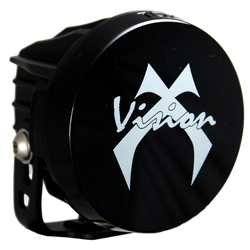 Vision X OPTIMUS ROUND SERIES PCV PROTECTIVE COVER BLACK OUT