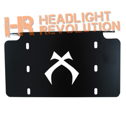 Vision X LICENSE PLATE BRACKET FOR LIGHTS UP TO 20""