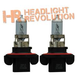 Vision X H13 60/55 WATT HI/LOW DOT APPROVED SUPERWHITE BULB SET